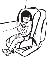 Forward Facing Child Safety Seat UAS