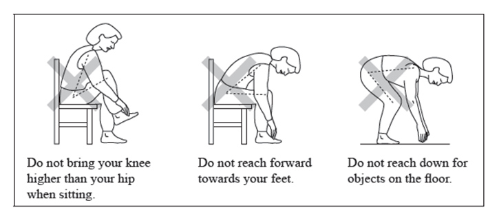 Your guide after a hip fracture when youre having surgery for a movement precautions fandeluxe Image collections