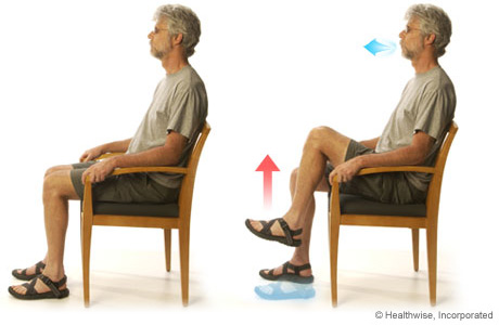 Leg Lifts For Chronic Obstructive Pulmonary Disease Copd