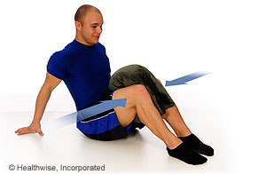 Picture of how to do hip adduction exercise