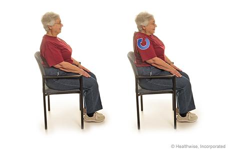 Program a seated exercises shoulder rolls publicscrutiny Gallery