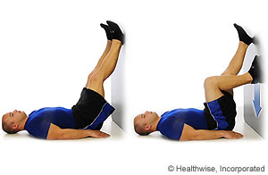 Medial Collateral Ligament Sprain: Rehab Exercises