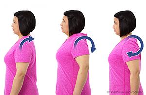 shoulder blade exercises