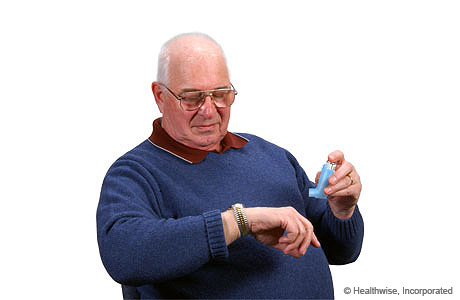 how to use inhaler without spacer