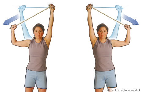 Resistance Training With Rubber Tubing