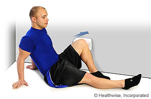 Picture of hip abduction exercise