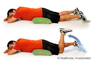 Pictures of hamstring curl exercise