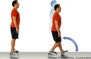 Step-down exercises
