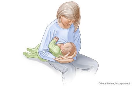 breastfeeding football hold