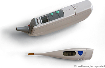 Two types of thermometers